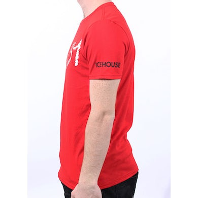 Icehouse Crazy Red Tshirt