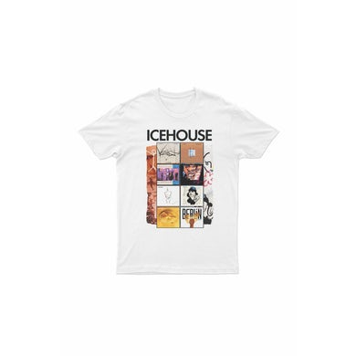 Icehouse Albums White Tshirt