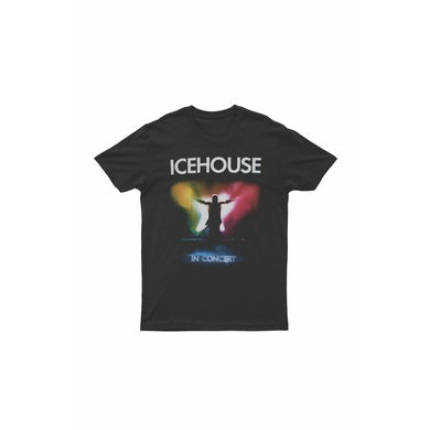 Icehouse In Concert Black Tshirt