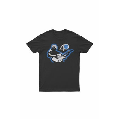 Icehouse Guitar 40 Years Live Black Tshirt