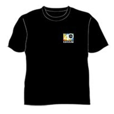 Icehouse 40 Years Live Black Tshirt