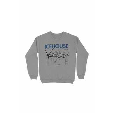 Icehouse Flowers Sports Grey Sweater