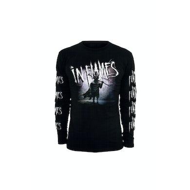 In Flames Mask Black Longsleeve Tshirt