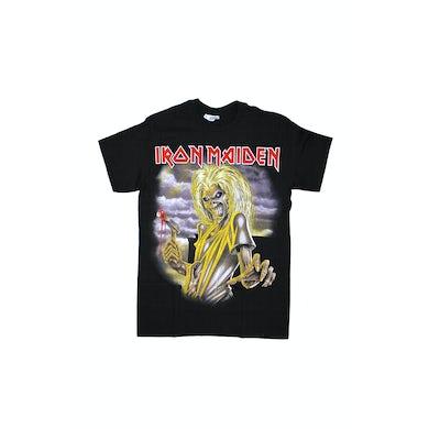 Iron Maiden Killers Large Print Black Tshirt