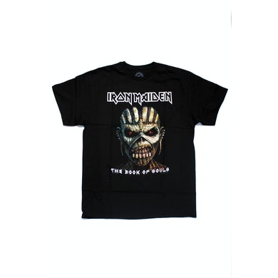 Iron Maiden Book Of Souls Close Up Black Tshirt