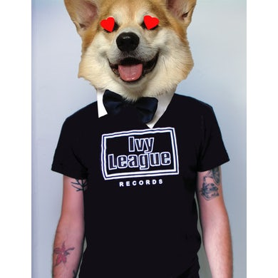 Ivy League Black Ben Sherman mens fit t-shirt