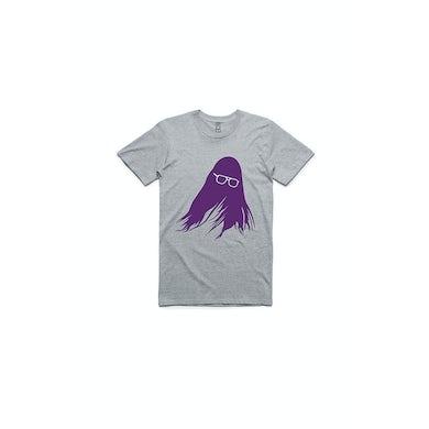 J Mascis Silhoutte Tour Grey Tshirt