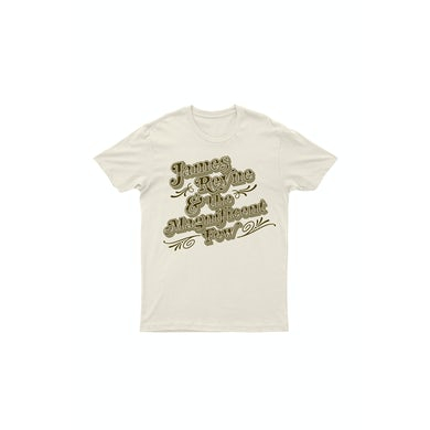 James Reyne And The Magnificent Few Natural Organic Tshirt