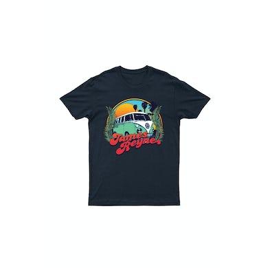 James Reyne Kombi Blue Tshirt /w Tour dates on reverse
