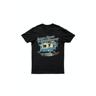 James Reyne/Mark Seymour Caravan Black Tour 2016 Tshirt