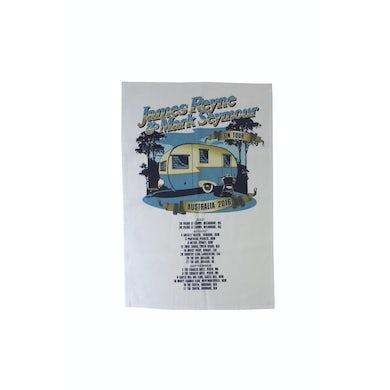 James Reyne Caravan Tea Towel