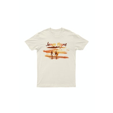James Reyne Sunset Natural Tshirt