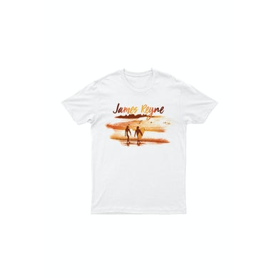 James Reyne Sunset White Tshirt
