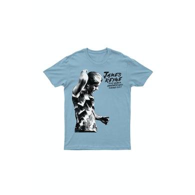 James Reyne Anniversary Baby Blue Tshirt