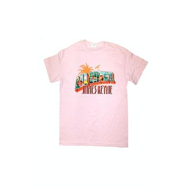 James Reyne All Crawl Pink Girls Tshirt
