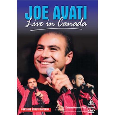Joe Avati Live In Canada DVD