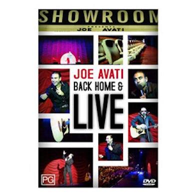 Joe Avati Back Home and Live DVD