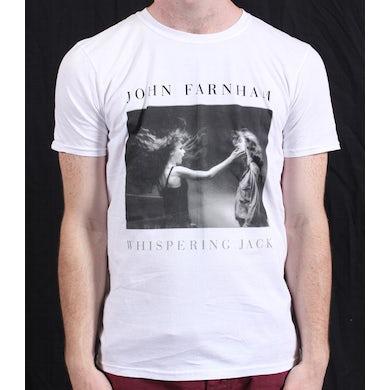 John Farnham Whispering Jack White Tshirt 2011 Tour