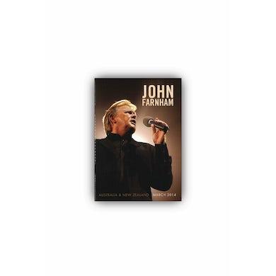John Farnham 2014 Tour Program