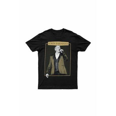 John Farnham Gold Jacket Black Tshirt 2018/2019 Tour