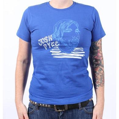 Josh Pyke Sketch Face Galaxy Blue Tshirt