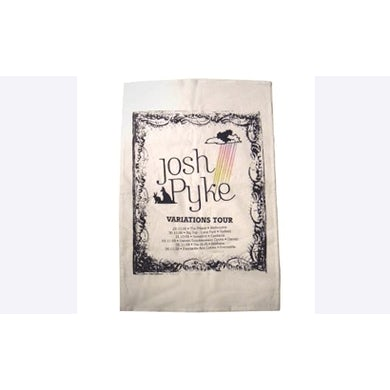 Josh Pyke Variations Tour Tea Towel