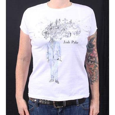 Josh Pyke Album Ladies White T Shirt
