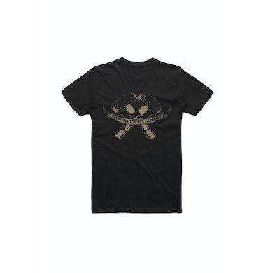 Justin Townes Earle Hammers Black Tshirt