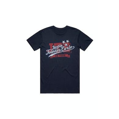 Justin Townes Earle Script American Logo