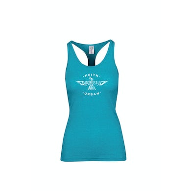 Keith Urban Jade Phoenix Tour Heather Ladies Tank