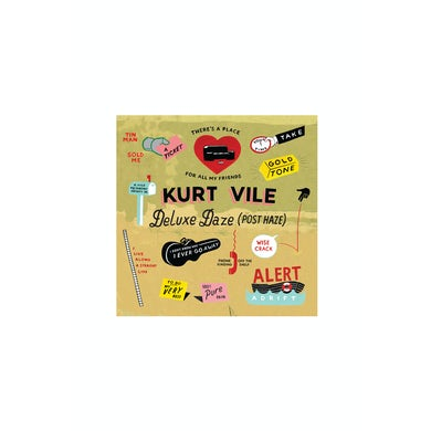Kurt Vile Deluxe Daze CD