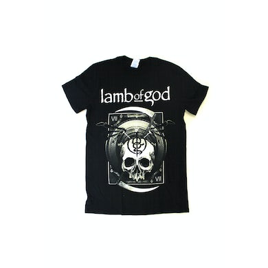 Lamb Of God Hourglass VII Black Tshirt Australian Tour 2016