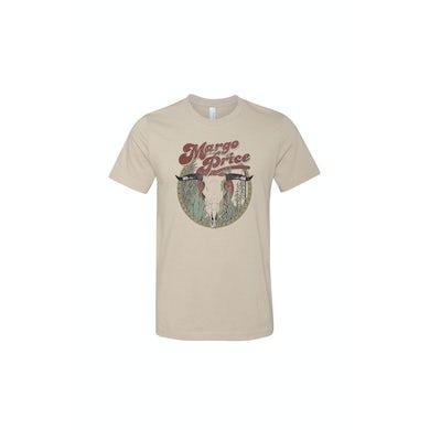 Margo Price Desert Skull Sand Tshirt