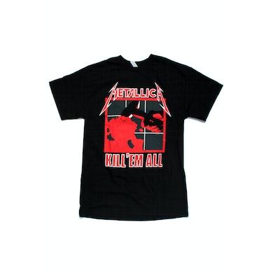 Metallica Kill 'Em All Black Tshirt