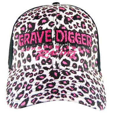 Monster Jam Grave Digger Ladies Cheetah Cap