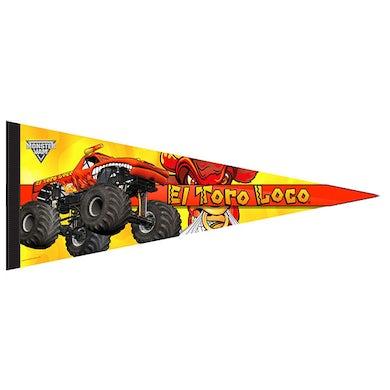 Monster Jam El Toro Loco Orange Flag