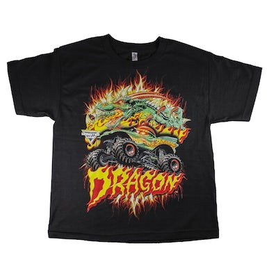 Monster Jam Dragon Fire Youth Tee