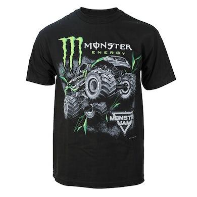 Monster Jam Monster Energy Jump Black Tee