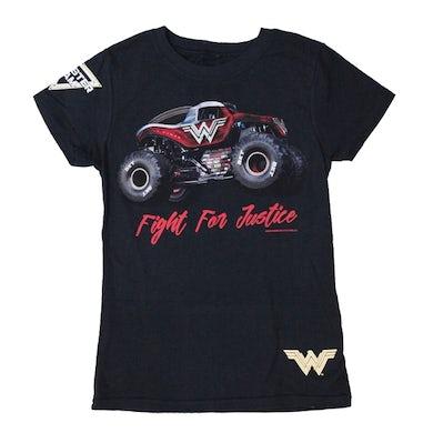 Monster Jam Wonder Woman Justice Youth Tee
