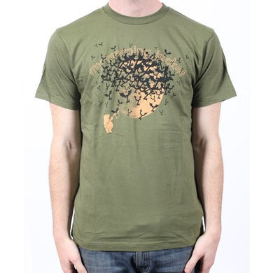 My Morning Jacket Bears & Bats Jungle Green Tshirt