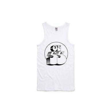 Logo White Singlet/Tank Top