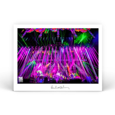 Paul McCartney Bright Lights Lithograph One On One World Tour 2017