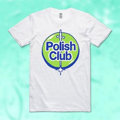 POLISH CLUB 99.9% GERM FREE WHITE TSHIRT