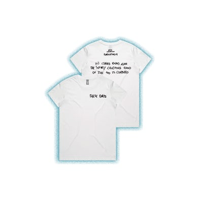 These Days Lyric White Ladies Tshirt