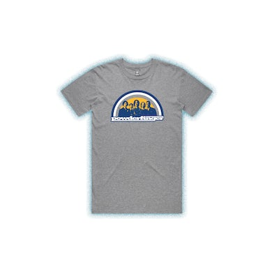 Powderfinger New Suburban Fables Grey Marle Mens Tshirt