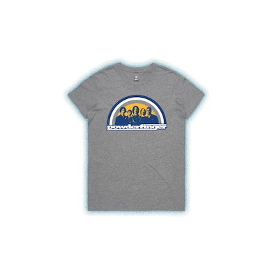 Powderfinger New Suburban Fables Grey Marle Ladies Tshirt