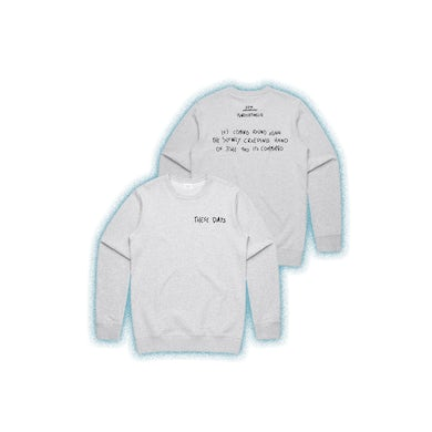 Powderfinger These Days White Marle Crew Fleece