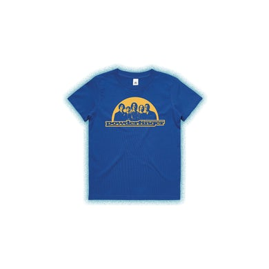 Powderfinger New Suburban Fables Kids Royal Blue Tshirt