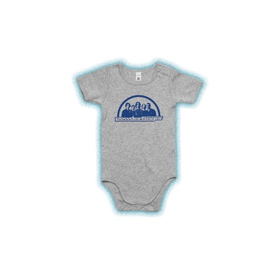 Powderfinger New Suburban Fables Grey Kids Grey Onesie