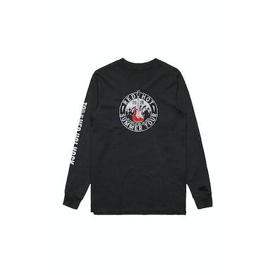 Red Hot Summer Tour 2020 Event Black Longsleeve Tshirt